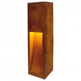 Luminaire pour socle haut de gamme RUSTY SLOT 50