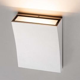 Applique LED élégante DELWA WIDE blanche
