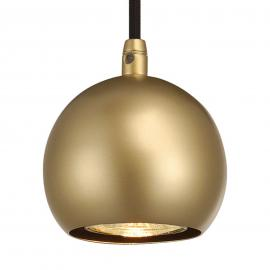 Suspension LED Light Eye Ball couleur laiton
