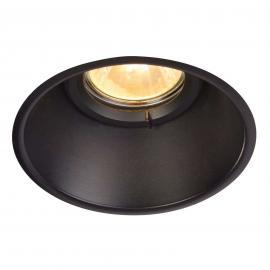 Spot encastré Horn-O, noir