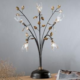 Lampe à poser style florentin MILLEFOGLIE 5 lampes