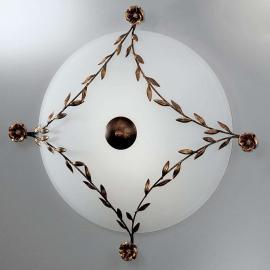 Magnifique plafonnier ROSE 65 cm