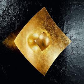 Applique élégante QUADRANGOLO avec feuille d'or