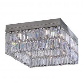 Plafonnier cristal PRISMA