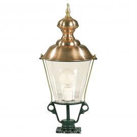 Luminaire pour socle K43 vert hauteur 68 cm
