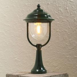 Superbe luminaire pour socle Parma verte