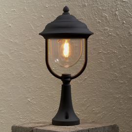 Superbe luminaire pour socle Parma noire