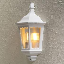 Applique extérieur blanche FIRENZE lanterne