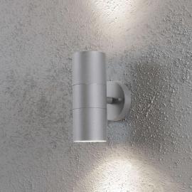 Applique extérieure NEW MODENA grise à 2 lampes