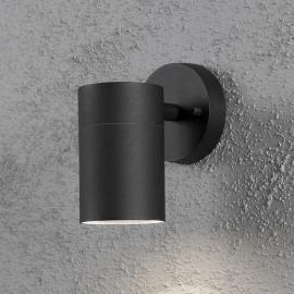 Applique extérieure NEW MODENA noire à 1 lampe