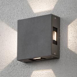 Applique d'extérieur LED réglable Cremona, anthr.