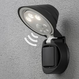 Applique d'extérieur LED à piles Prato à détecteur
