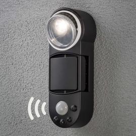 Applique d'extérieur à détecteur à piles Prato