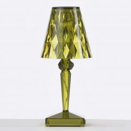Lampe à poser LED décorative Battery, verte