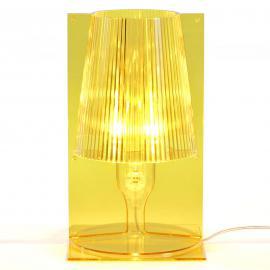 Kartell Take lampe à poser, jaune