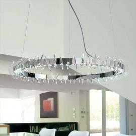 Grande suspension EOS LED de forme annulaire