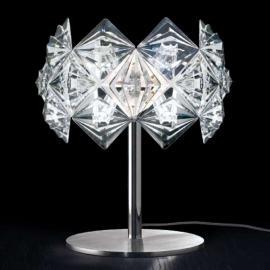Lampe à poser PRISMA avec abat-jour scintillant