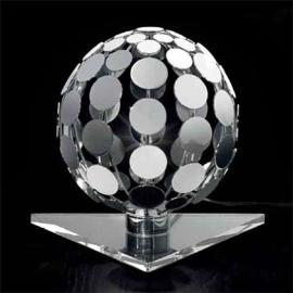 Petite lampe à poser SFERA avec socle transparent