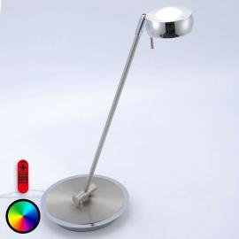 Lampe à poser LED Lola-Opti, changement de couleur