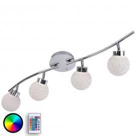 Plafonnier LED RGBW Miko avec télécommande