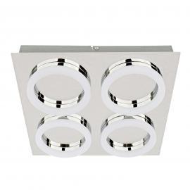Plafonnier LED Ring, de forme carrée