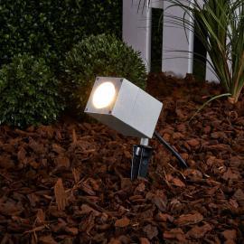 Projecteur d'extérieur inclinable Icaro av. piquet
