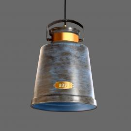 Suspension VINTAGE gris antique