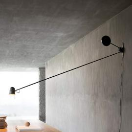 Applique LED haut de gamme Counterbalance, noir