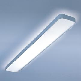Plafonnier LED long Caleo-X1 blanc chaud 150 cm