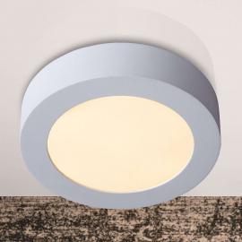 Plafonnier discret rond LEDBRICE 18 cm