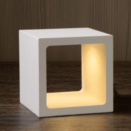 Lampe à poser LED cubique Xio