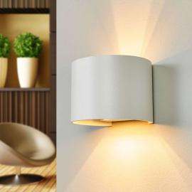 Applique LED Xio, blanche