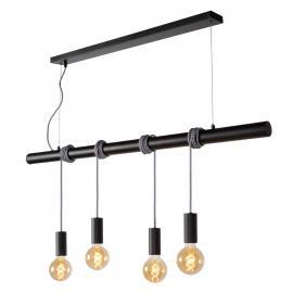 Suspension originale à quatre lampes Jaime