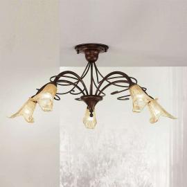 Plafonnier RICCARDO à 5 lampes