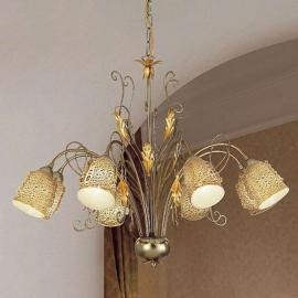 Suspension Ilaria à huit lampes