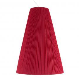 Suspension textile Sheraton rouge éclatant