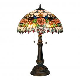 Lampe à poser Maja style Tiffany