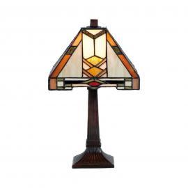 Lampe à poser Eliazar style Tiffany
