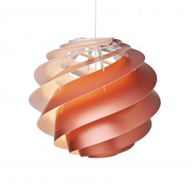 LE KLINT Swirl 3 Medium - suspension cuivrée
