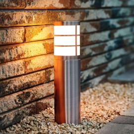Luminaire pour socle Calgary en acier inox IP44