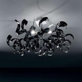 Plafonnier moderne ASTRO, 3 lampes, noir