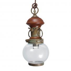 Suspension Wind 3 à 1 lampe avec décor en bois