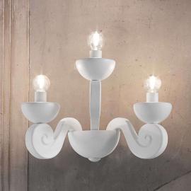 Applique Botero à 3 lampes
