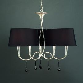 Suspension à 6 lampes Paola