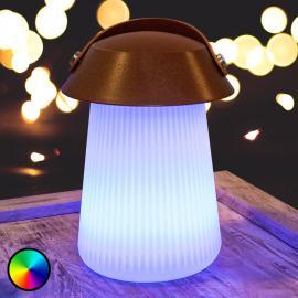 Lampe à poser LED et haut-parleur Funghi