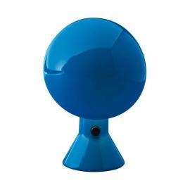 Lampe à poser design ELMETTO bleue