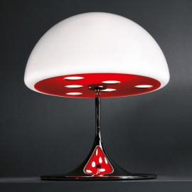 Somptueuse lampe à poser MICO 60 cm rouge