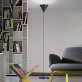 Modo Luce ABC Single lampadaire gris plomb