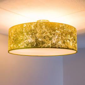Plafonnier Aura avec feuille métallique chiffonnée