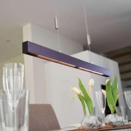 Élégante suspension LED Nora, 78 cm